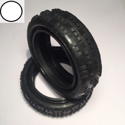 Picture of Ballistic BBT50 Cut Rib 2wd Front Tyre