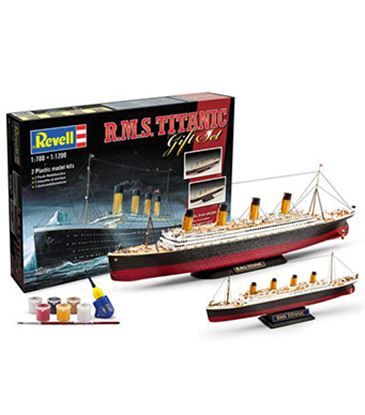Picture of Revell RV05727 Titanic Gift Set 2 x Models