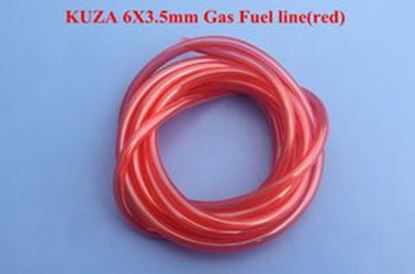 Picture of KUZA KAG0062R Gas fuel Line 2m 5mm X 3.5mm Red