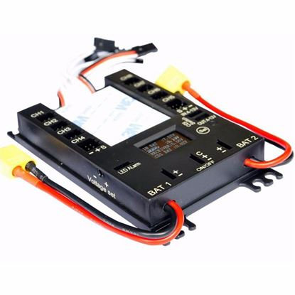 Picture of PB5009 Servo Distribution Board with LED Screen/ Voltage Alarm /Power Box