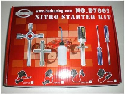 Picture of BSD B7002 Nitro starter kit