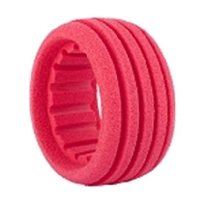 Picture of AKA 34001S 1:8 BUGGY / SC SHAPED INSERT RED (SOFT) (4 PCS)