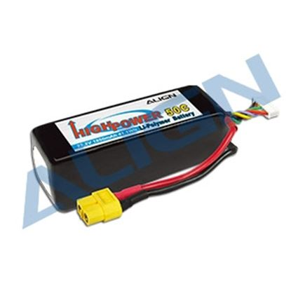 Picture of HBP18501 6S1P 22.2V 1850mAh/50C