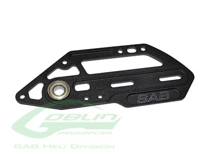 Picture of SAB H0359BM-S - Aluminum Tail Side Plate Black Matte - Goblin Bl