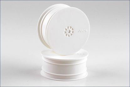 Picture of AKA 23301W 1:10 HEXLITE 4WD FRONT WHEEL WHITE (KYOSHO)