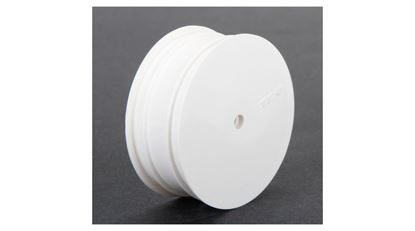 Picture of TLR TLR43009 FRONT WHEEL, 12MM HEX, WHITE (2): 22 3.0