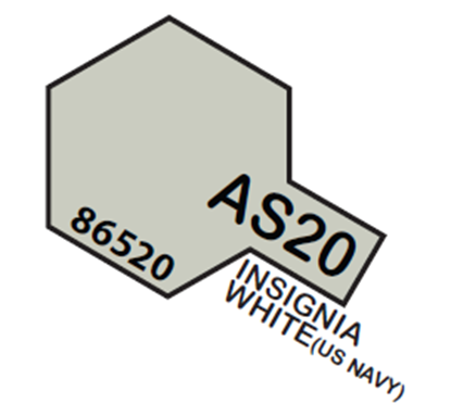 Picture of Tamiya AS-20 Insignia White (USN) - 100ml Spray Can
