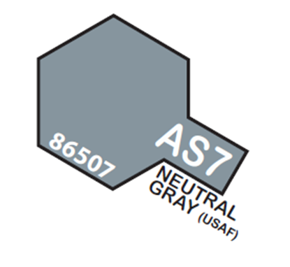 Picture of Tamiya AS-07 Neutral Gray (USAAF) - 100ml Spray Can
