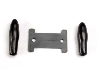Picture of Traxxas 1926 - Antenna caps, vinyl (2)/ antenna spool