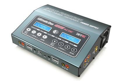 Picture of Skyrc SK-100123-03 D400 Dual Channel 400W Balance Charger