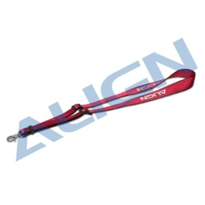 Picture of HOS00011 Radio Strap Cherry Red