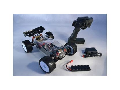 Picture of LC RACING 1/14 EP Micro Truggy RTR (Clear Body) LiPo