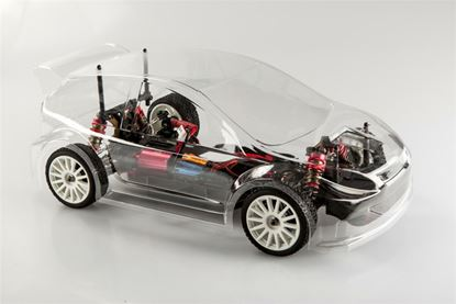 Picture of LC RACING 1/14 EP Micro Rally Car RTR (Clear)
