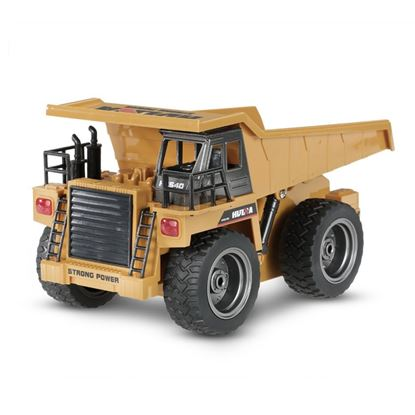 Picture of Huina Toys 1540 2.4G 6Ch RC 1/18 Dump Truck