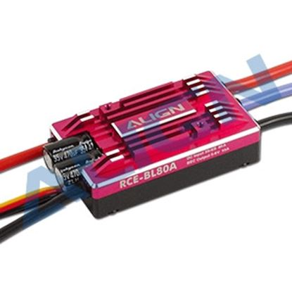 Picture of HES08003 RCE-BL80A Brushless ESC