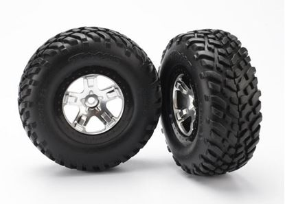 Picture of Traxxas 5873X - Tires & wheels, assembled, glued