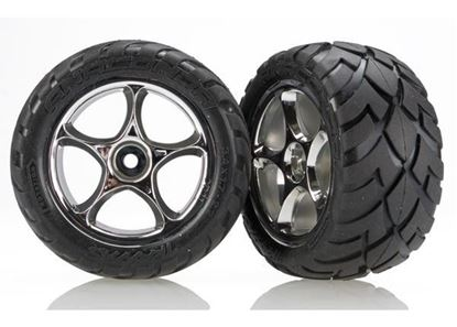 Picture of Traxxas 2478R - Tires & wheels, assembled