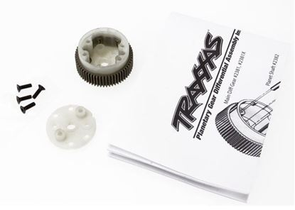 Picture of Traxxas 2381X - Main diff with steel ring gear/ side cover plate/ screw