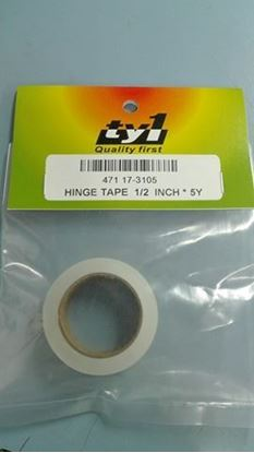 Picture of TY1 17-3105 Hinge Tape W=0.5 inch, L=5M