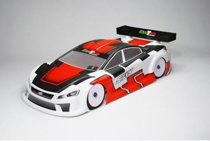 Picture of Mon-Tech MT015-013 Silvy 190MM TC 1/10 Body Shell