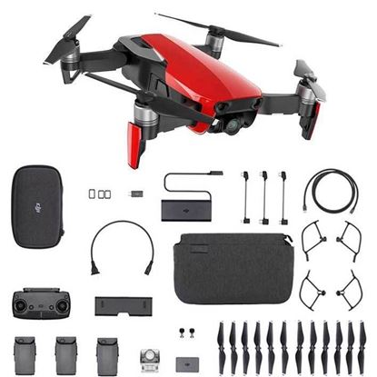 Picture of DJI Mavic Air Fly More Combo - Flame Red