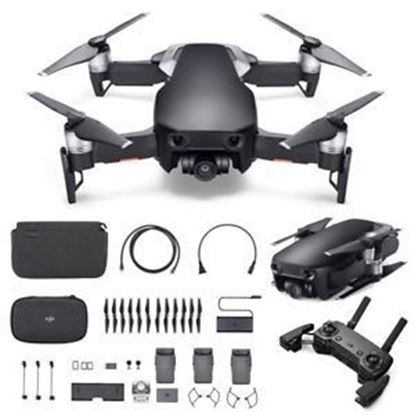 Picture of DJI Mavic Air Drone Fly More Combo- Onyx Black