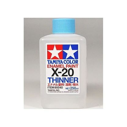 Picture of Tamiya X-20 Tamiya 250ml Enamel Paint Thinner