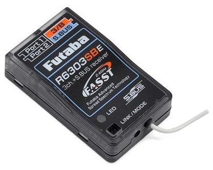 Picture of Futaba R6303SBE Electric S.Bus 2.4GHz High-Speed Micro Receiver