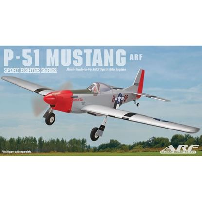 """Picture of Great Planes GPMA1208 P-51 Mustang .46-.55 GP/EP ARF 52"""""""