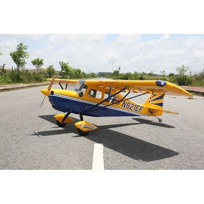 """Picture of Seagull  SEA314 Decathlon 50cc - 3D - 122"""" - Yellow (2 boxes Wing and fuselage)"""