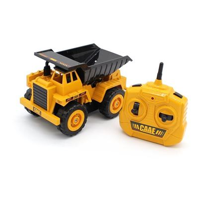 Picture of 9210A CAAE 2.4G RC Engineering Dump Truck 1:36 Scale 5CH, 185x115x110mm