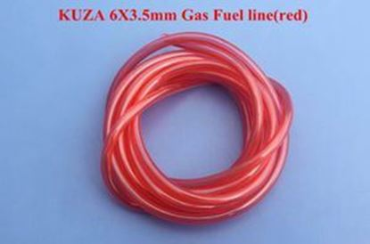 Picture of KUZA KAG0061R Gas fuel Line 2m 6mm X 3.5mm Red