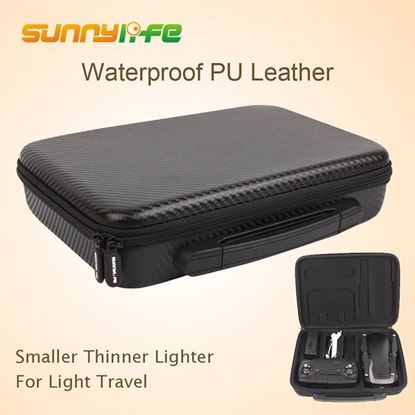 Picture of Sunnylife Portable Handheld Storage Bag Waterproof PU Carrying Case Accessory for DJI MAVIC AIR (AIR-B129-P)