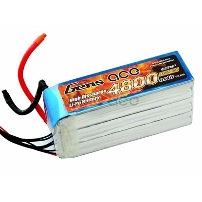 Picture of Gens-Ace 4800mAh, 22.2V, 6S1P, 60C