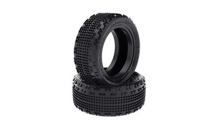 """Picture of Schumacher U6855 Cactus Fusion 2.2"""" Front 1/10 4wd Buggy Tire (2) (Yellow)"""
