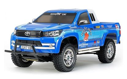 Picture of Tamiya 58663 - 1/10 Toyota Hilux Extra Cab (CC-01 chassis) Kit
