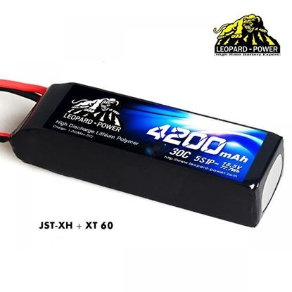 Picture of Leopard Power 5s 18.5v 4200mah 30c XT60 Lipo Battery