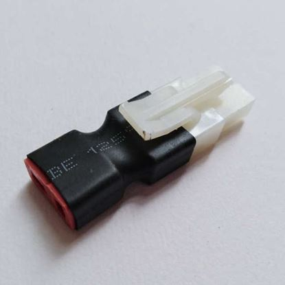 Picture of FUSEP-43 Tamiya Male (Device) to Deans Female (Battery) adapter