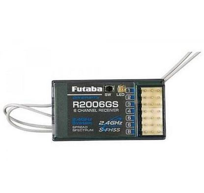 Picture of Futaba R2006GS 6 Channel S-FHSS Receiver 6J