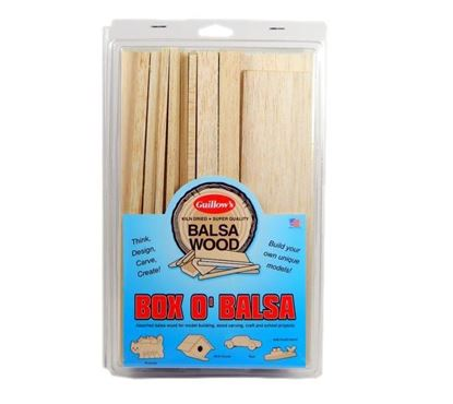 Picture of Guillows GUI0014 Box 'O Balsa (Small Random Sizes)