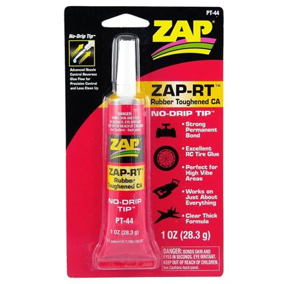 Picture of ZAP-RT PT44  1 oz. Rubber Toughened CA