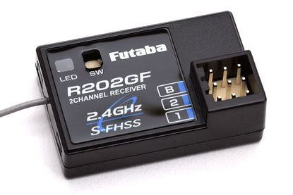 Picture of Futaba R202GF 2.4GHz 2CH Surface Receiver