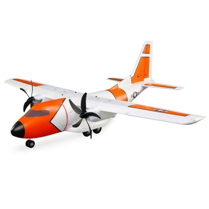 Picture of E-Flite EFL5750 EC-1500 Twin 1.5m BNF Basic with AS3X and SAFE Select