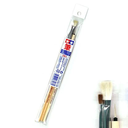 Picture of Tamiya 87066 Modeling Paint Brush Basic Set