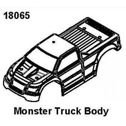 Picture of RCPRO 18065 Monster Truck Body 1/18 MT