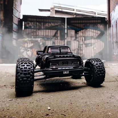 Picture of Arrma AR106034 NOTORIOUS 1/8 6S BLX Classic Stunt Monster Truck RTR Black