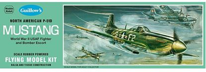Picture of Guillows GUI 0905 North American P-51D Mustang Easy Build