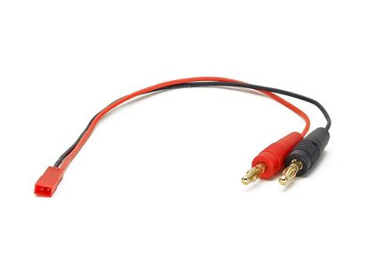 Picture of FD-W216 JST Charge lead W/ 4mm Banana plug