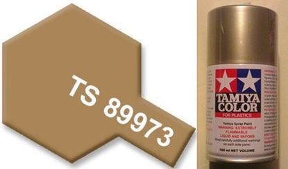 Picture of Tamiya TS 89973 Colour Spray Paint  Metallic Sand