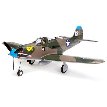 Picture of E-Flite EFL9150 P-39 Airacobra 1.2m BNF Basic with AS3X and SAFE Select